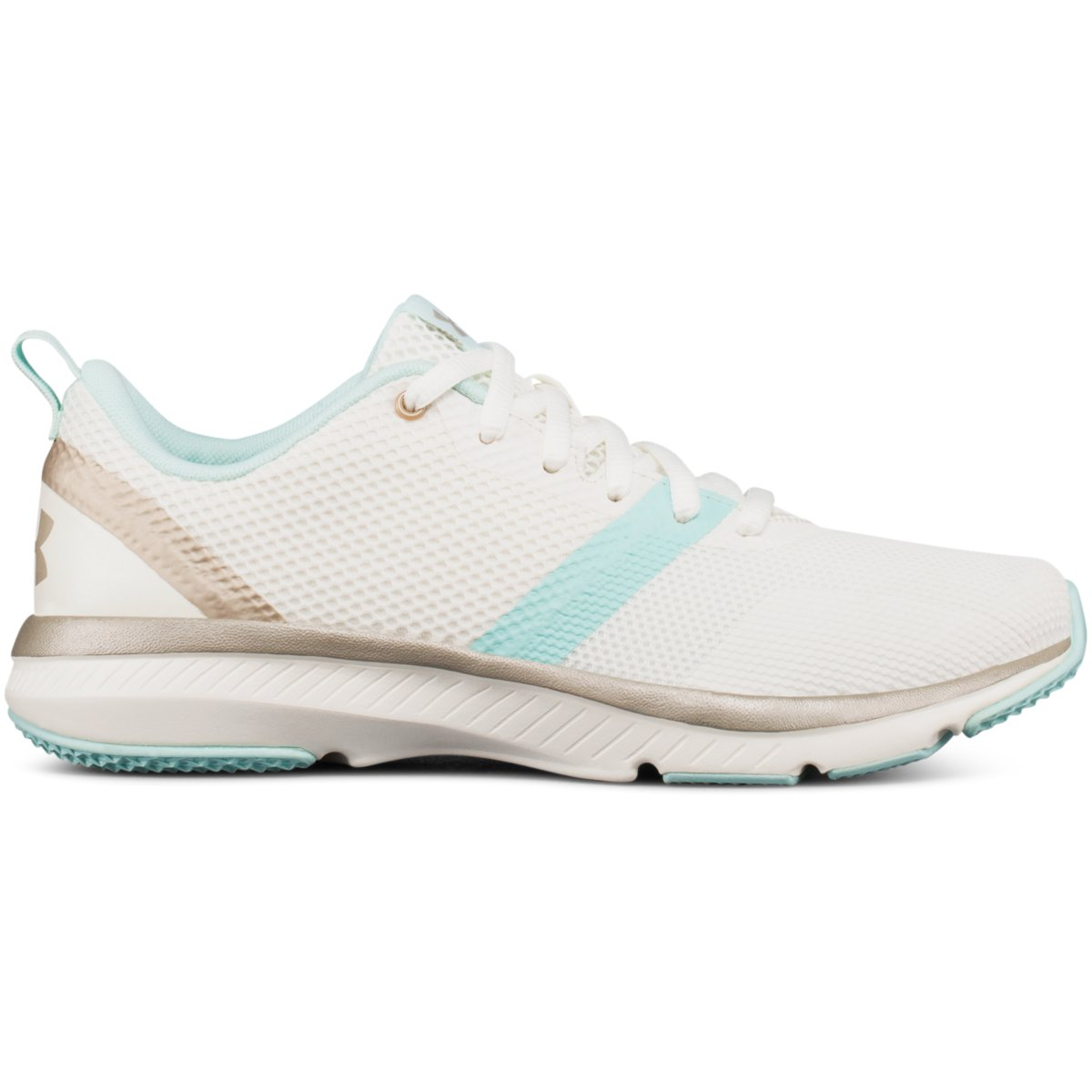 Under Armour PRESS 2 - Sports shoes - white W3KhHQ