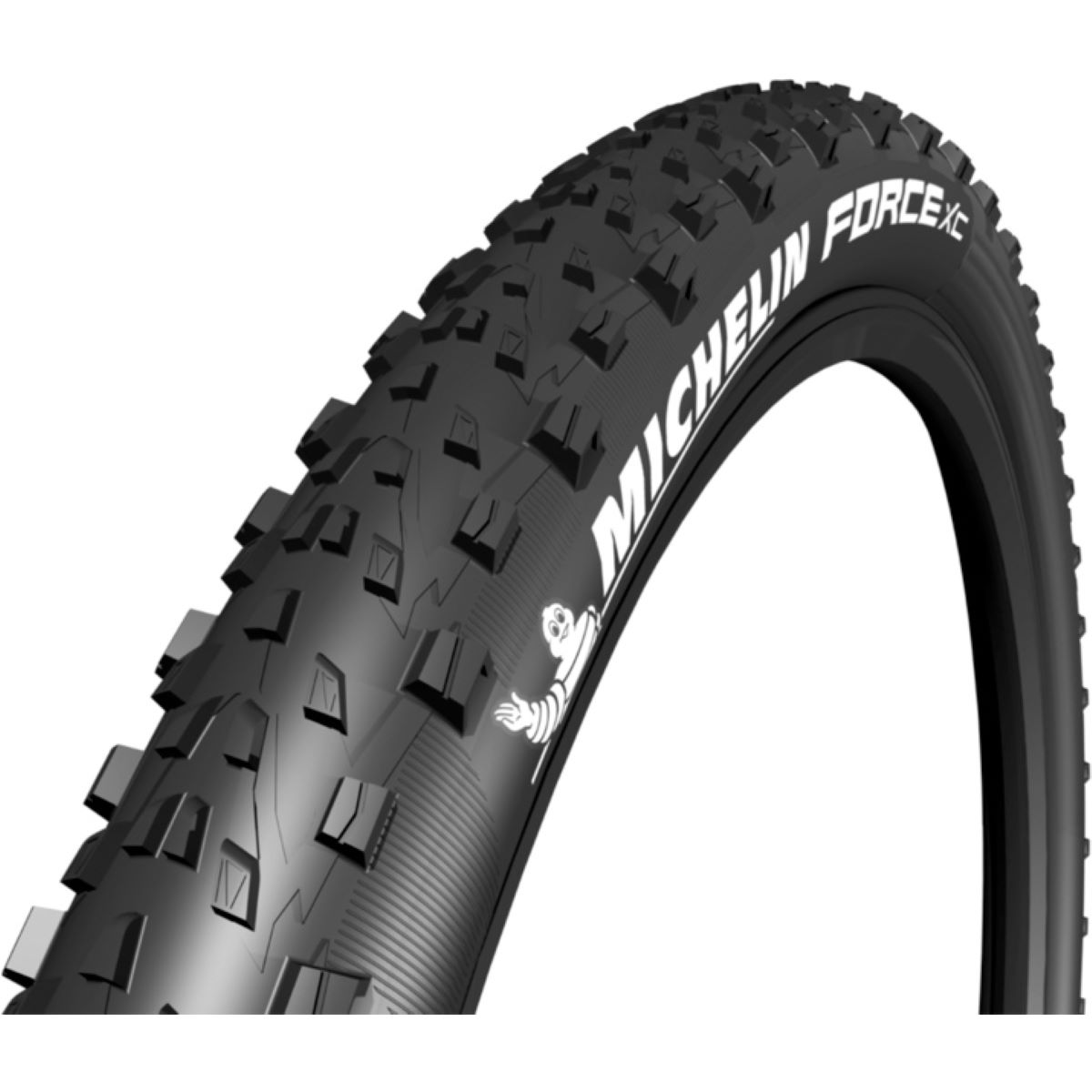 Pneu VTT Michelin Force XC Competition - 2.25' 27.5' Noir Pneus