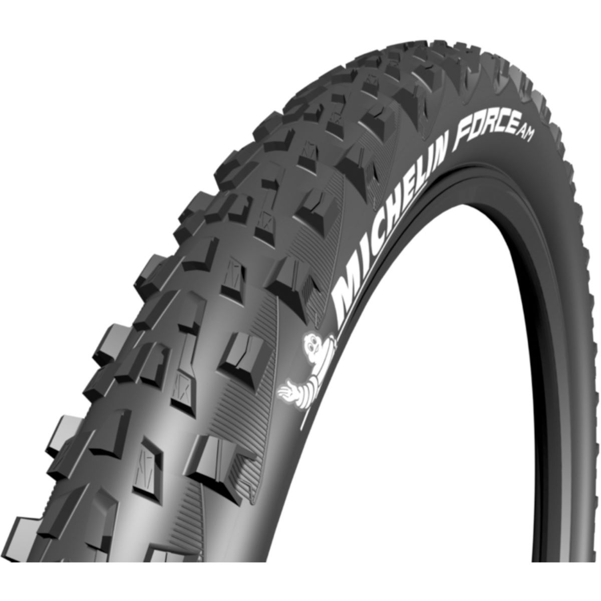 Pneu VTT Michelin Force AM Competition - 2.6' 27.5' Noir Pneus