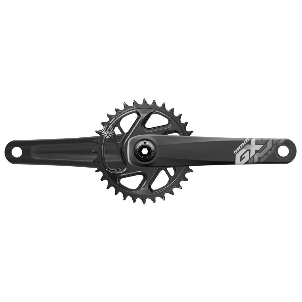 Pédalier SRAM GX Eagle BB30 Boost - 32t 12 Speed 165mm Noir