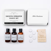 Kit de afeitado Mens Society Smooth Op