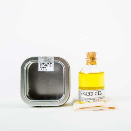 Men's Society Beard Oil and Face Rag