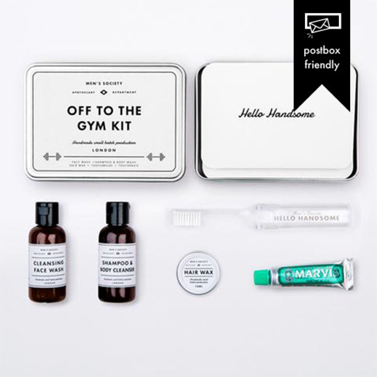 Kit Men's Society Off To The Gym - One Size Neutral Idées cadeaux