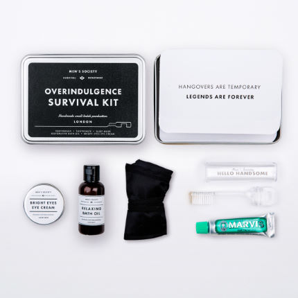 Men's Society Overindulgence Kit