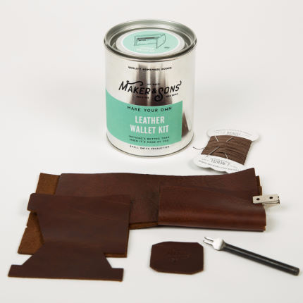 Men's Society DIY Leather Wallet Kit