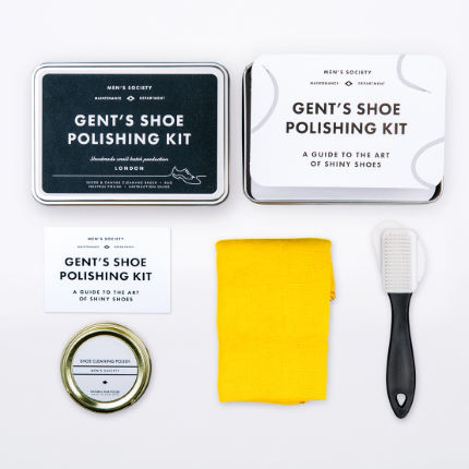 Men's Society Gent's Shoe Polishing Kit