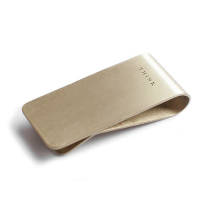 Men's Society Money Clip – Think