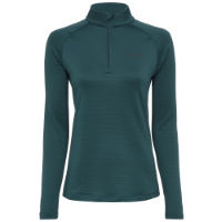 dhb Womens Quarter Zip Waffle Run Fleece