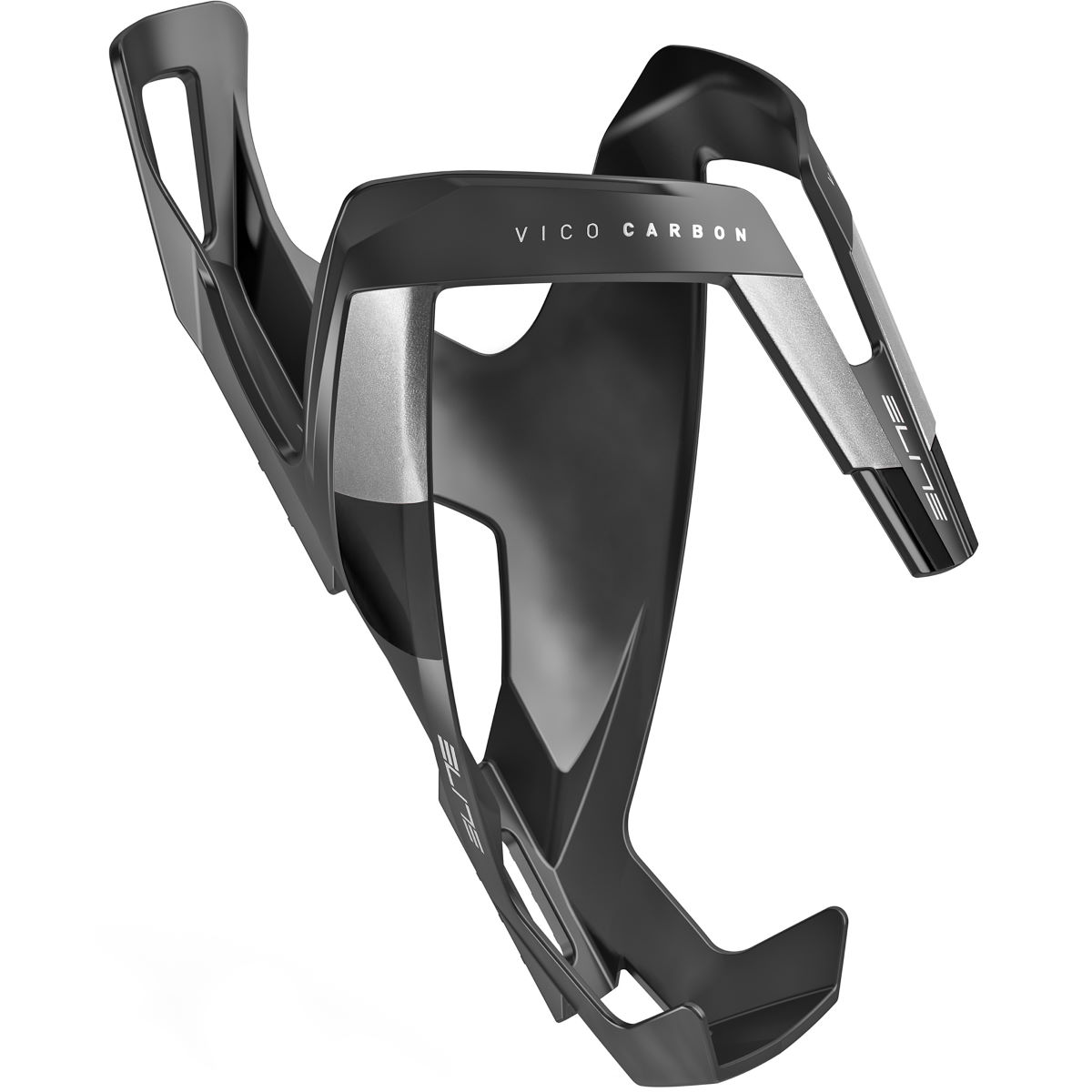 Porte-bidon Elite Vico Stealth (carbone) - Stealth Black