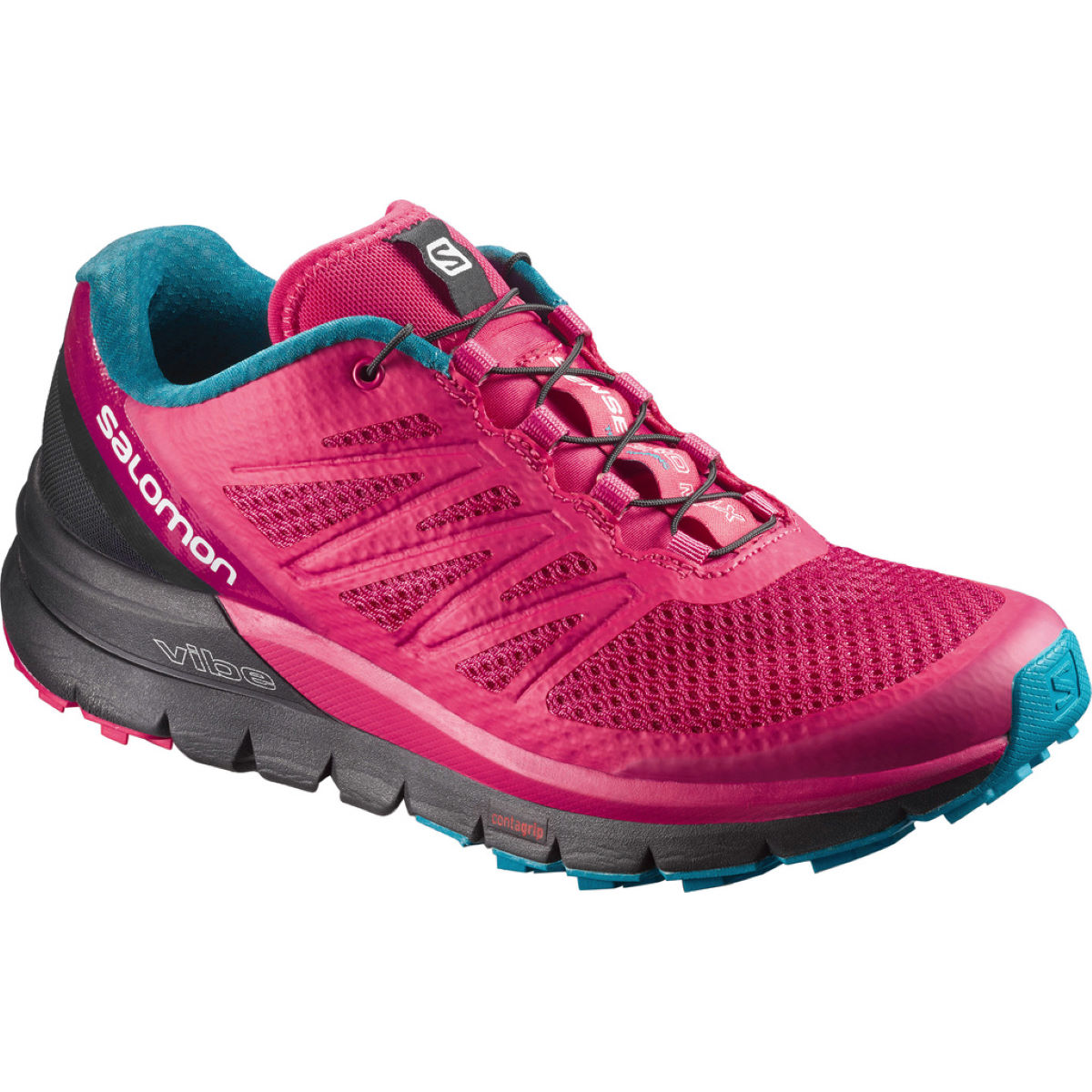 Chaussures Femme Salomon Sense Pro Max - UK 5 Virtual Pink/Black/E