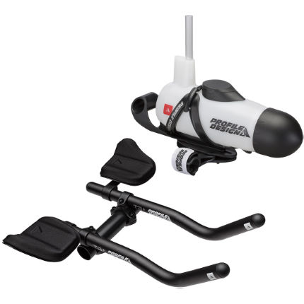 Profile Design T3 Aluminium Aerobar and Aero HC System Bundle
