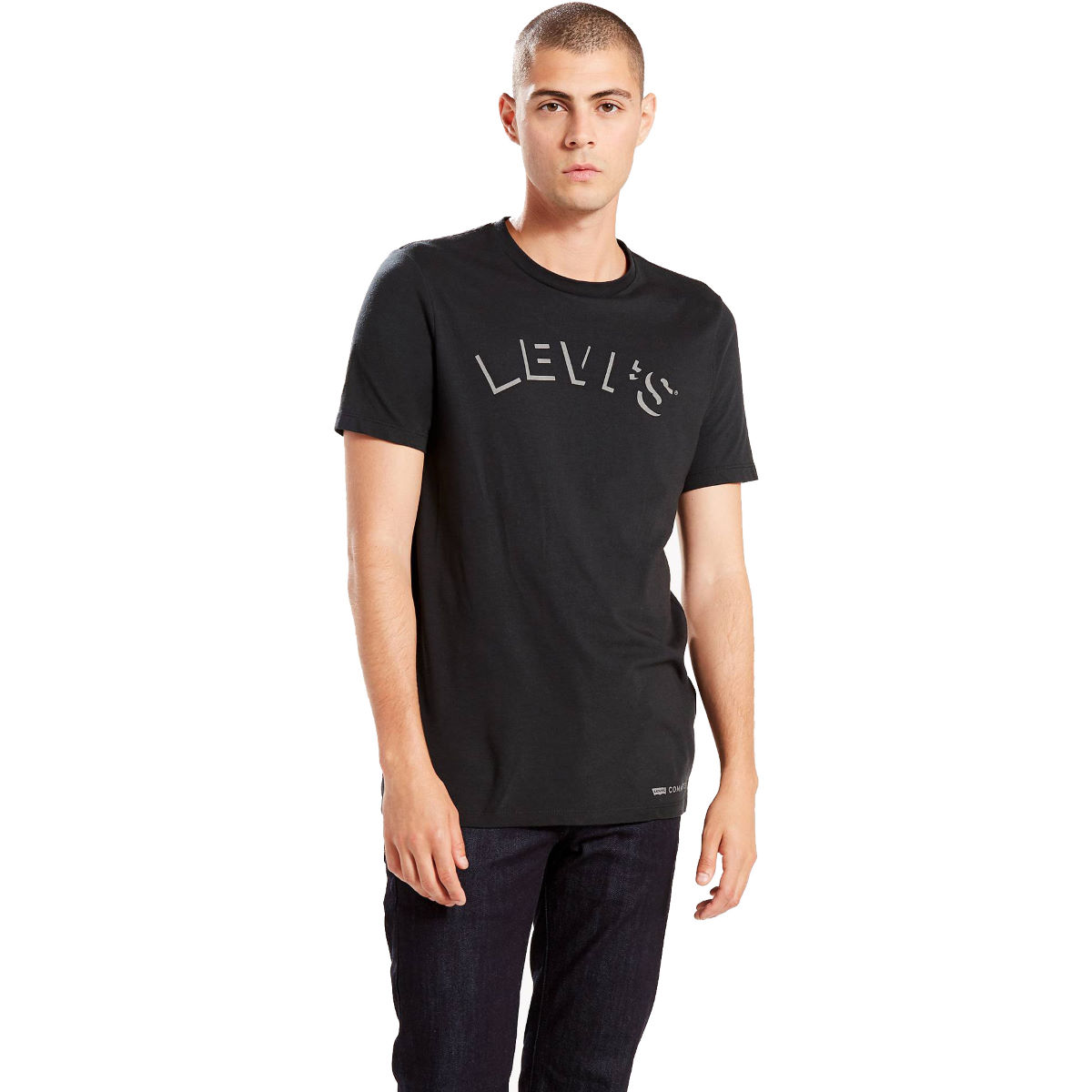 Maillot Levi's Commuter Graphic - XL Caviar T-shirts