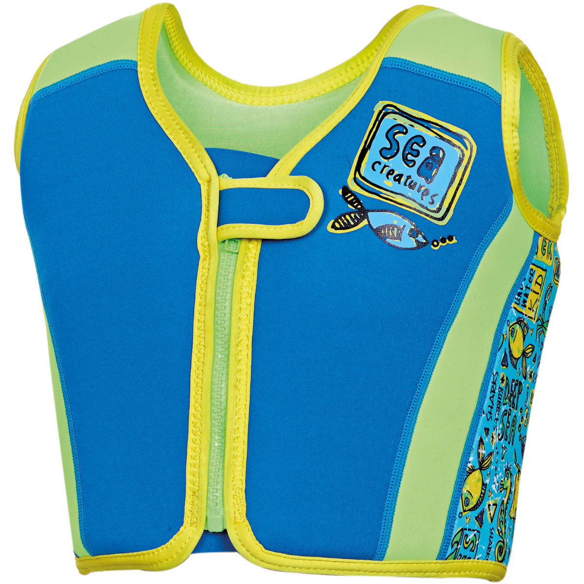 Gilet de flottaison Enfant Zoggs Deep Sea Swim - 2-3 years Bleu