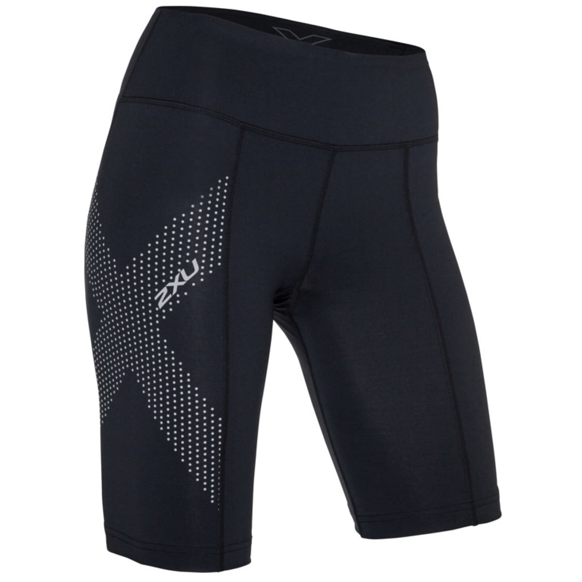2XU Women's Mid-Rise Compression Shorts - Mallas cortas de compresión