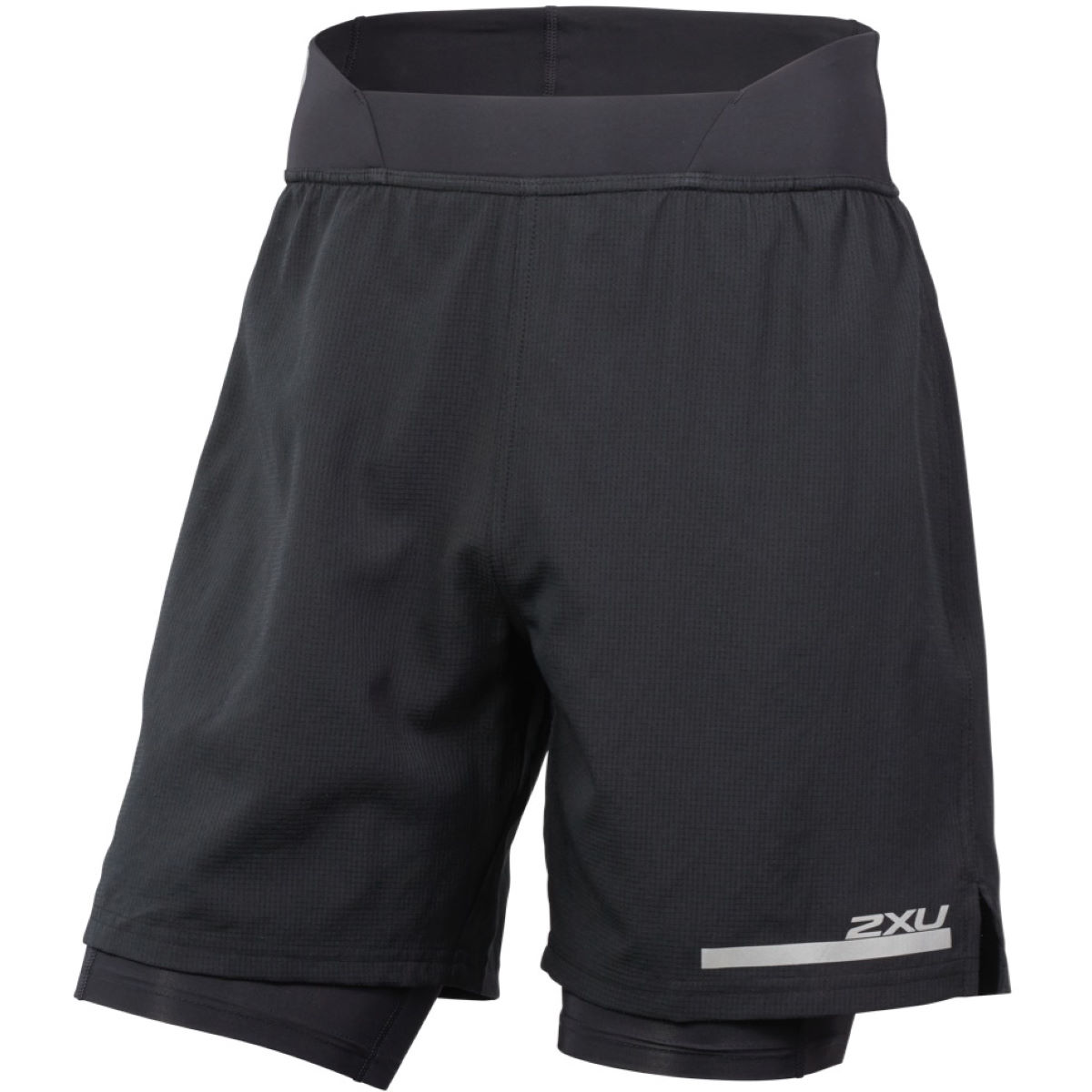 "2XU Run 2 in 1 Compression 7"" Short - Mallas cortas de compresión"