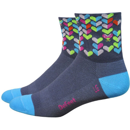 Chaussettes Femme DeFeet Aireator Love Bug (7 cm environ)