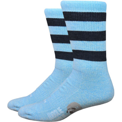 "DeFeet - Woolie Boolie 6"" Vintage Stripes Socks"