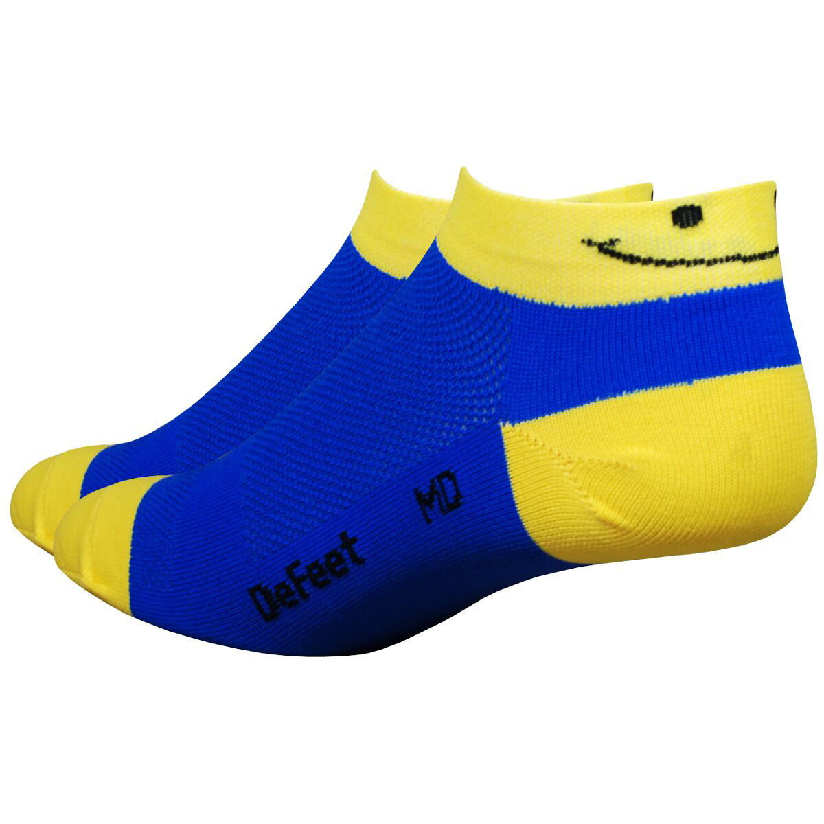 Chaussettes DeFeet Aireator Speede Smiley (2,5 cm environ) - L