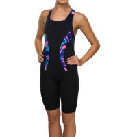 Maru Womens Galaxy Swirl Pacer Panel Legsuit