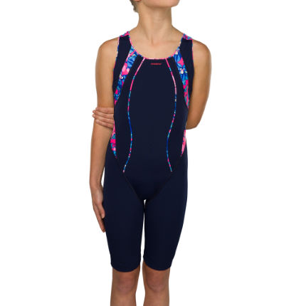 Maru Girl's Busy Lizzy Pacer Panel Legsuit