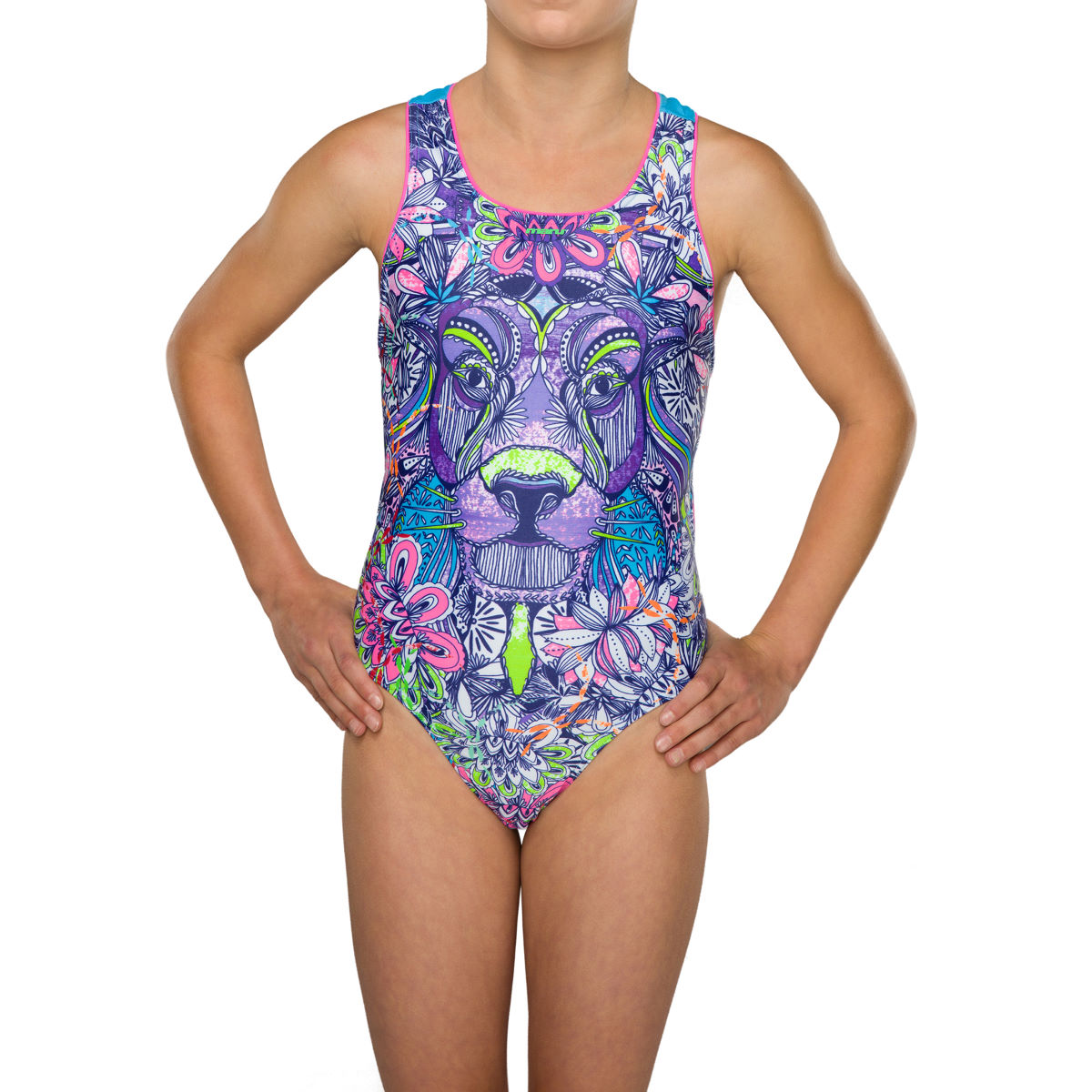 """Maru Girl's Aslan Pacer Rave Back - 22"""" Multi 