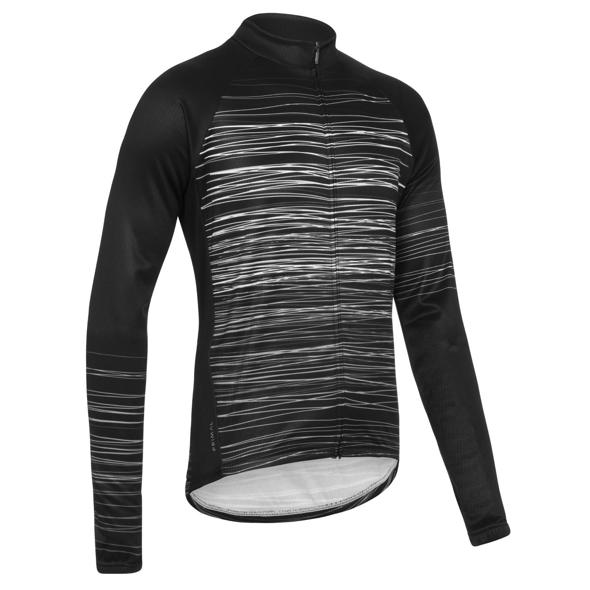 Maillot Primal Brink Heavyweight (manches longues) - 2XL White/Grey