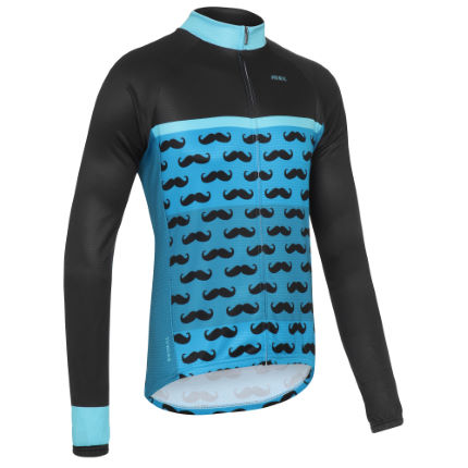 Primal - Grayson  Mustachio Heavyweight Long Sleeve Jersey
