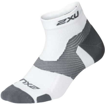 2XU Vectr Light Cushion 1/4 Crew Socks