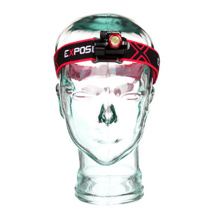 Exposure Verso Mk2 Head Torch  Red