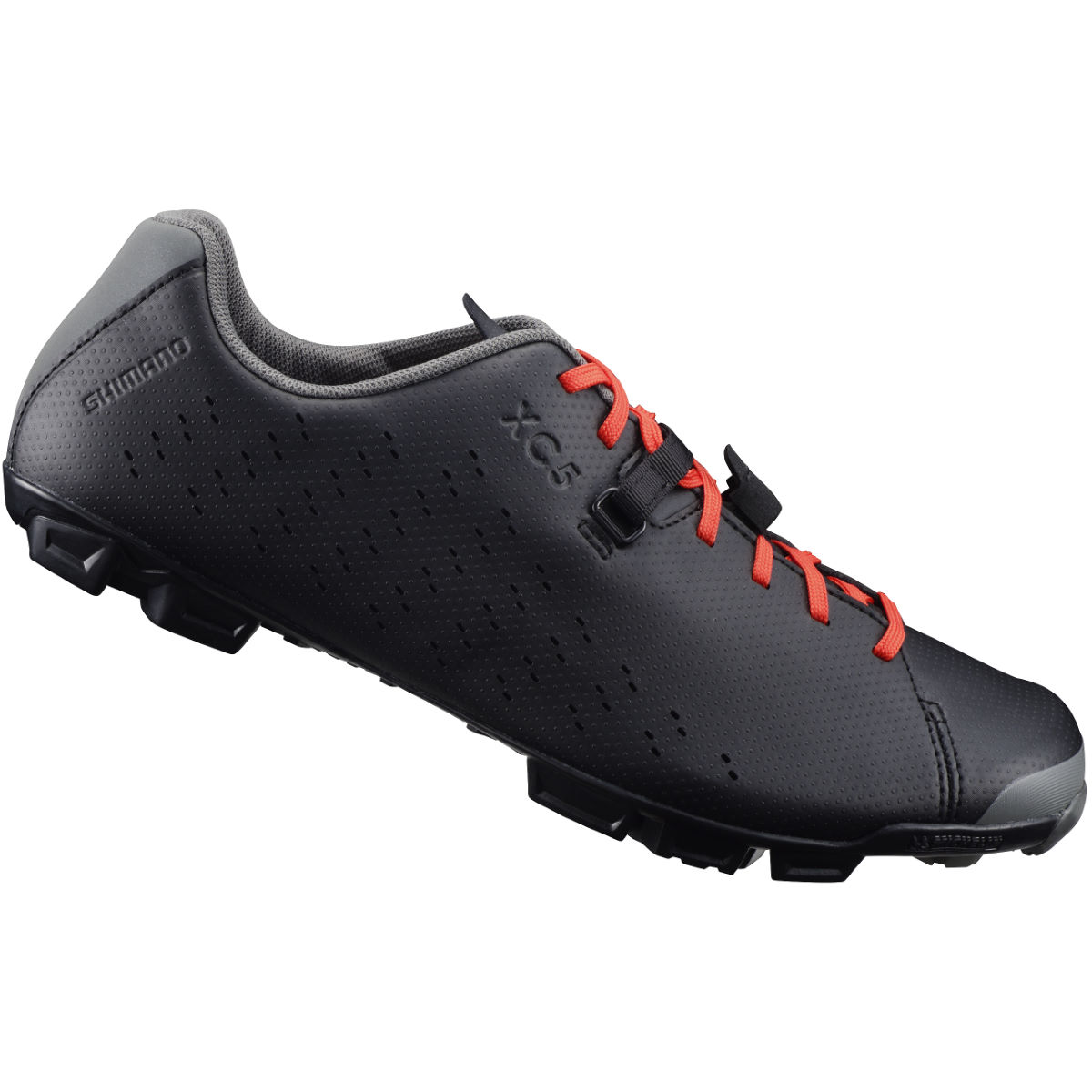 Shimano XC5 MTB SPD Shoes - 41 Black | Offroad Shoes