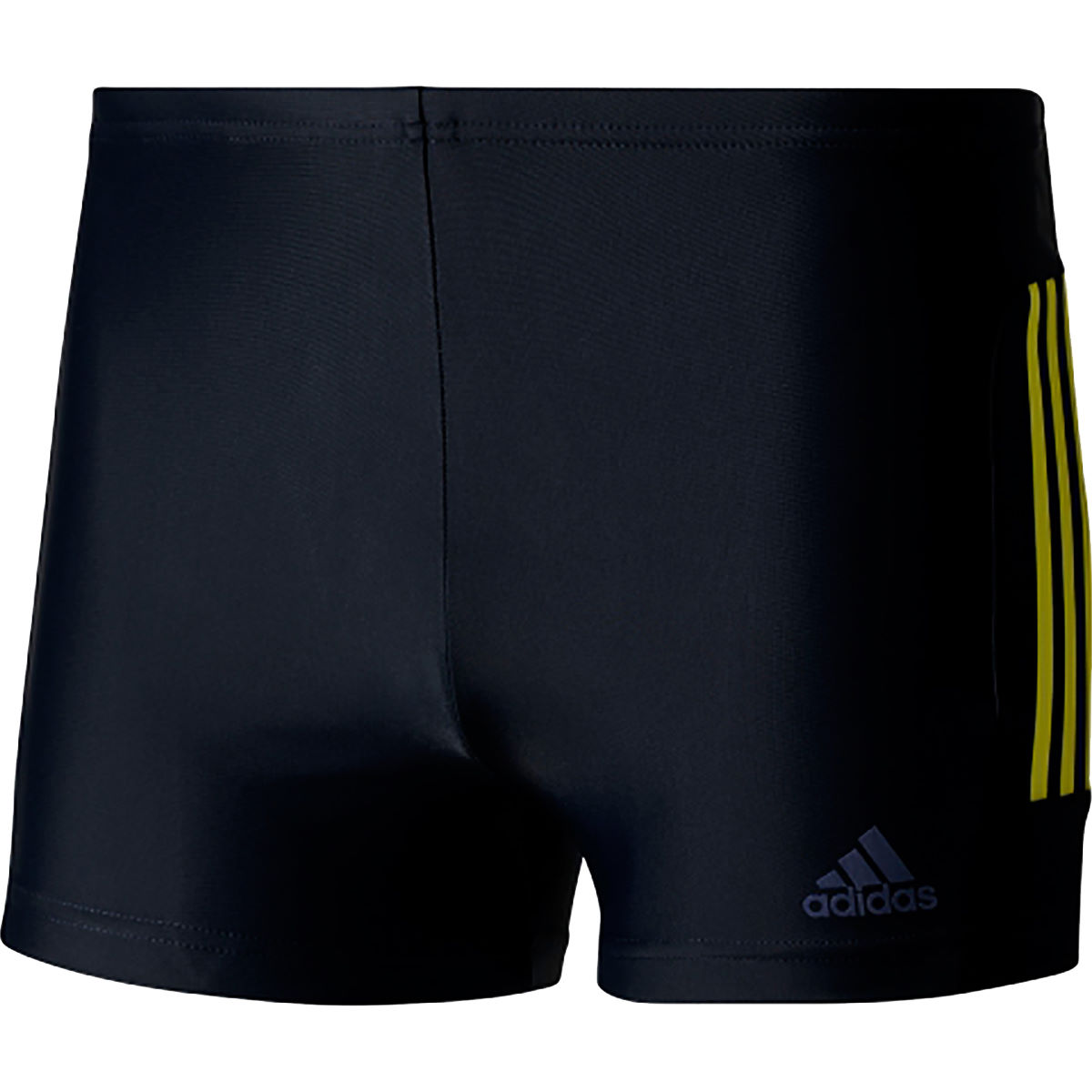 Boxer de bain Adidas Essence Core 3 Stripe - 28'' Legend Ink/Yellow