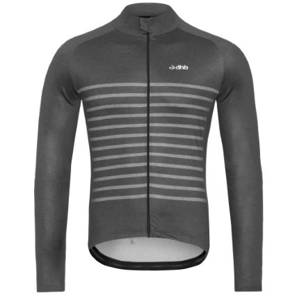 dhb Classic Thermal Long Sleeve Jersey - Breton Marl