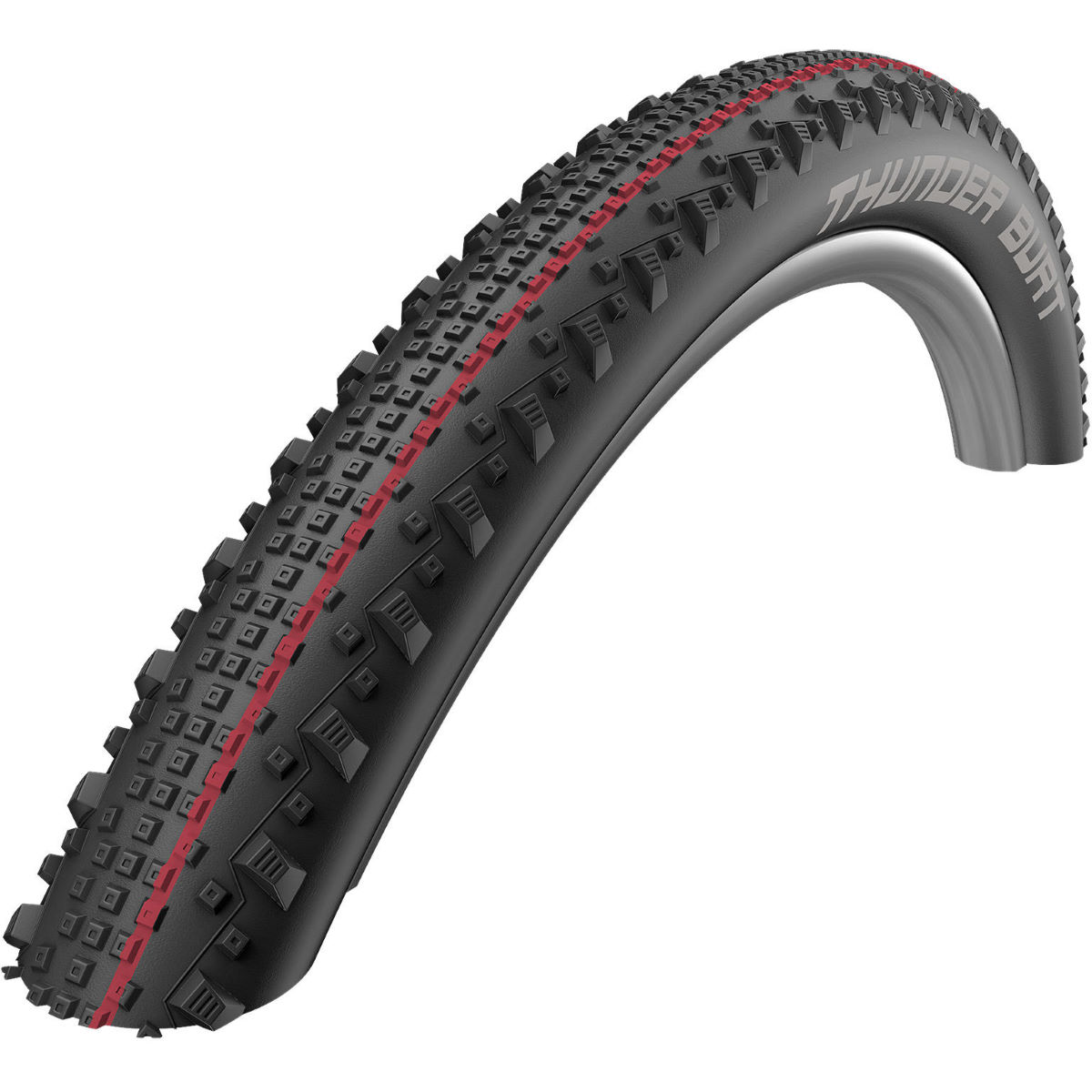 Pneu VTT Schwalbe Thunder Burt Addix SnakeSkin (souple) - Black - Red