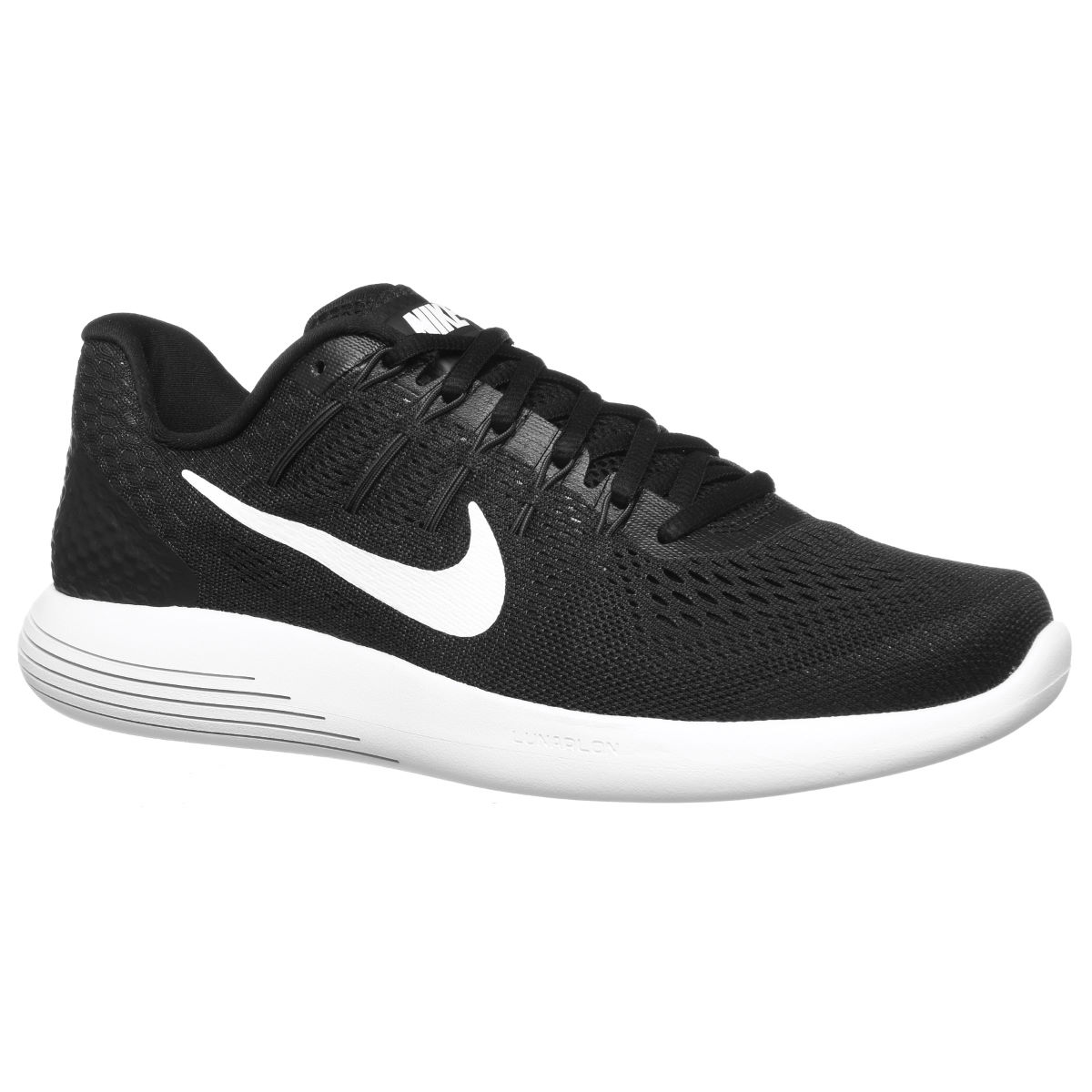 Nike Lunarglide 8 Shoes - UK 11 Black/White | Stability Running Shoes