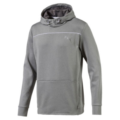 Puma Sudadera Puma Active Tec Stretch - Sudaderas con capucha Medium Gray Heather XL