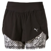 Puma Womens Blast 2in1 Run Short