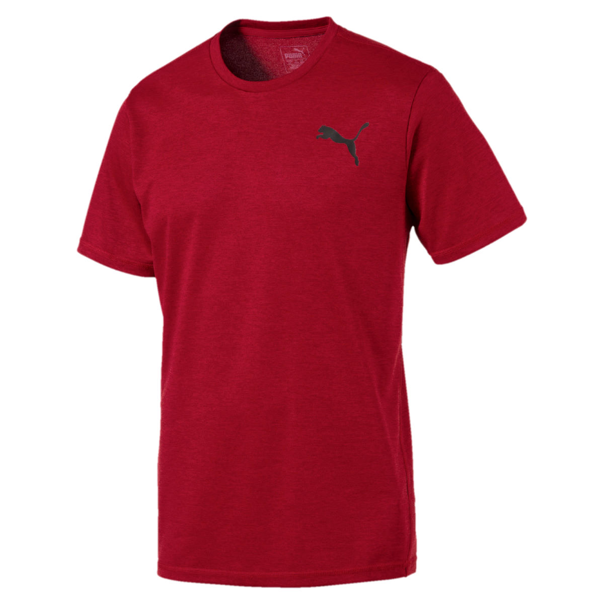 Maillot Puma Essential Puretech Heather Gym - L Red Dahlia Heather