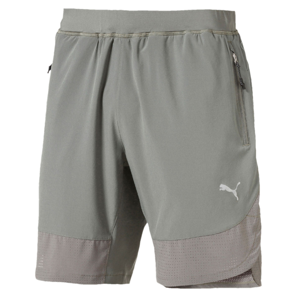 """Puma Energy 9"""" Run Short - XXL Castor Gray 