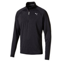 Puma Core Long Sleeve Half Zipper Run Top