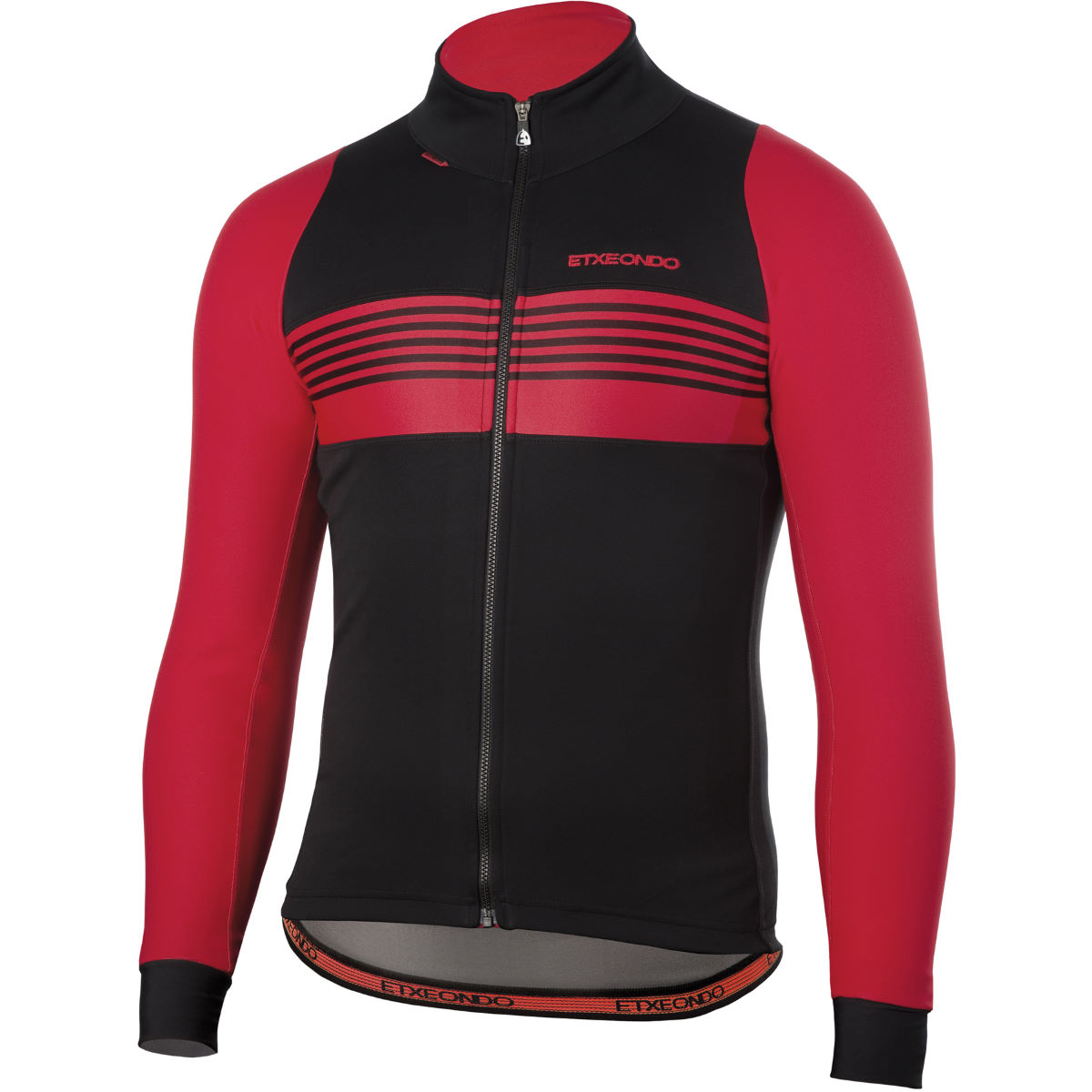 Veste Etxeondo Aldapa Windstopper - 3XL Noir/Rouge Coupe-vents vélo