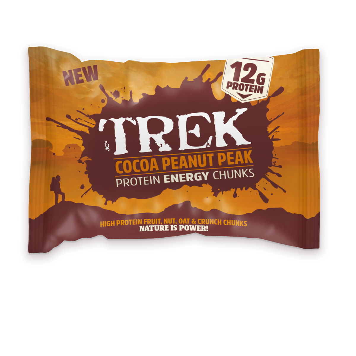 Morceaux TREK Chunks (14 x 60 g) - 14 x 60g Chocolate & Peanut