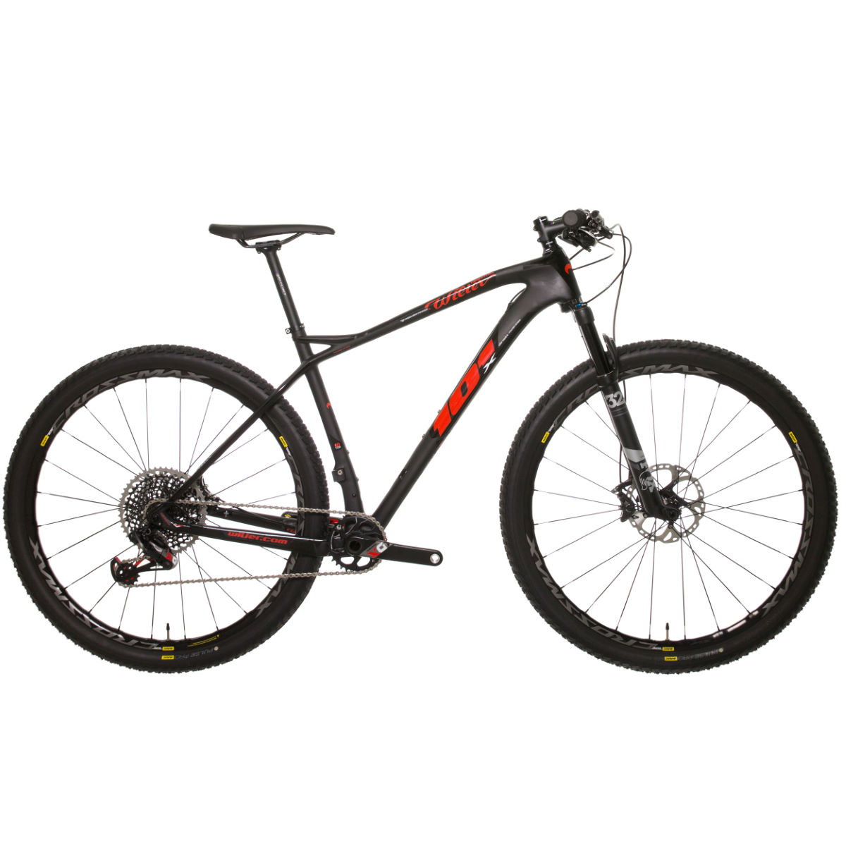 VTT Wilier 101X (Eagle X01, 2018) - XL Stock Bike Yellow/Red