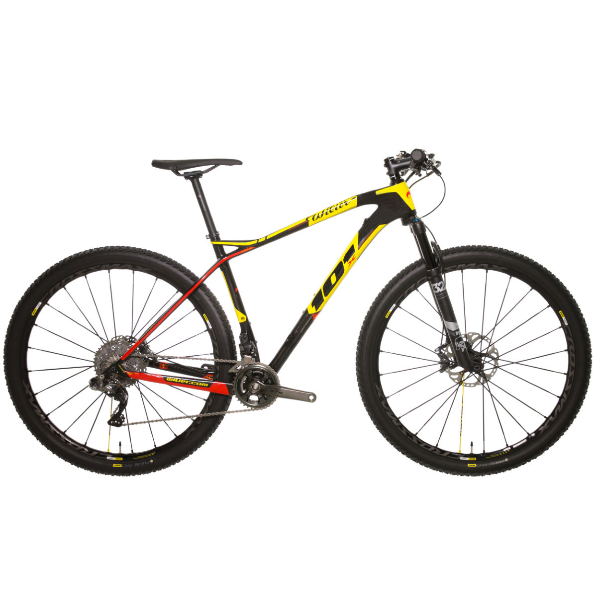 VTT Wilier 101X (XTR Di2, 2018) - S Stock Bike Yellow/Red