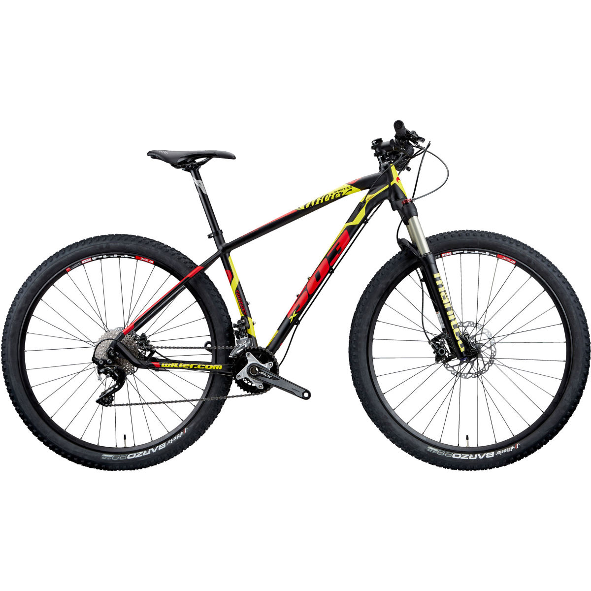 VTT Wilier 503X PRO (SLX, 2018) - S Stock Bike Red/Yellow