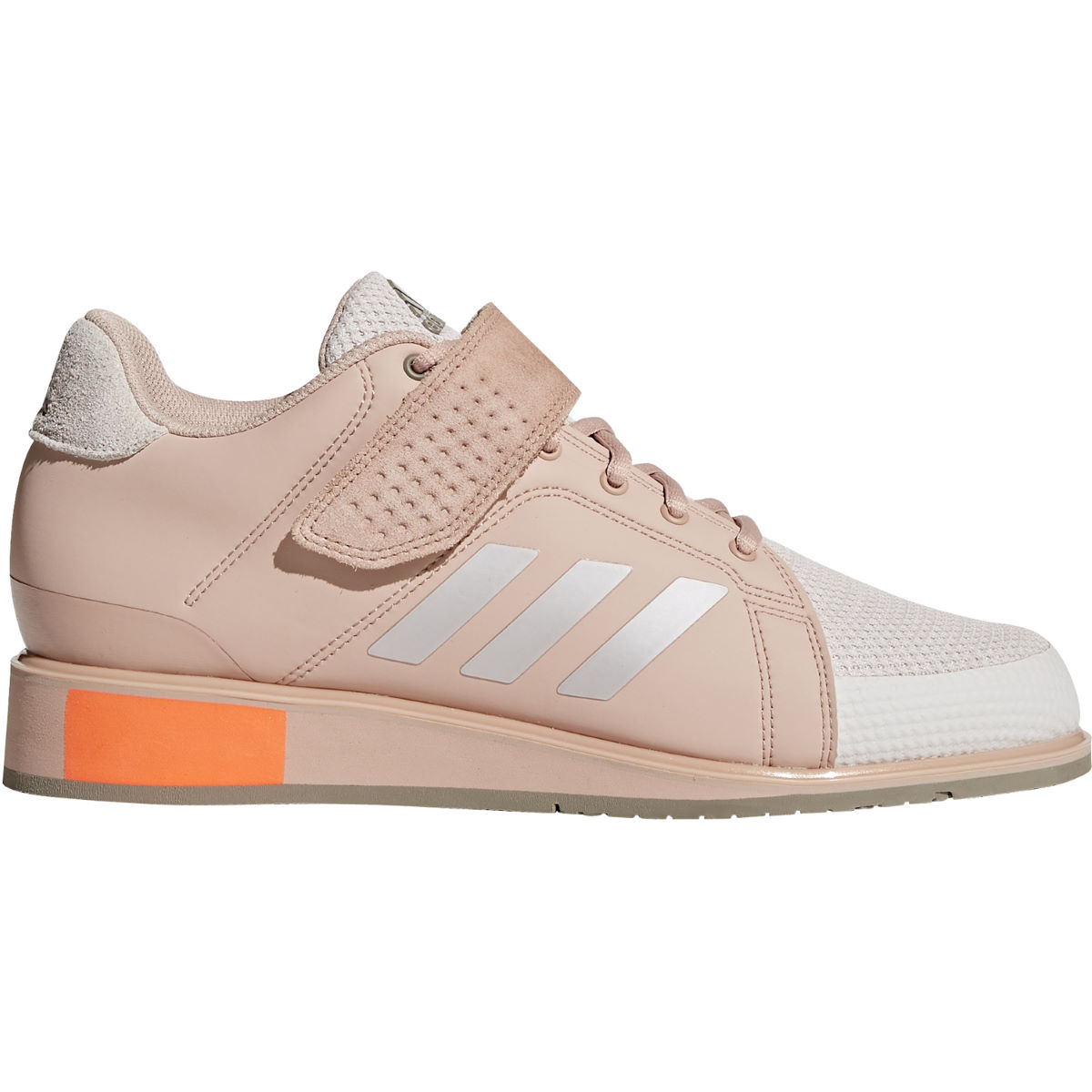 Chaussures Femme adidas Power Perfect III - UK 4 Pink/Silver