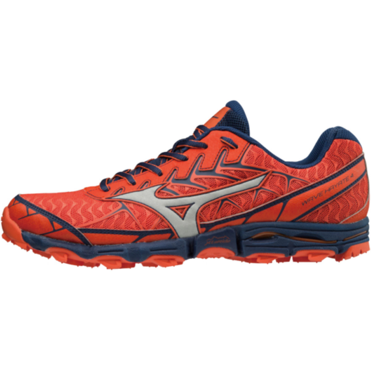 Chaussures Mizuno Wave Hayate 4 - UK 13 Cherry Tomato / Silv