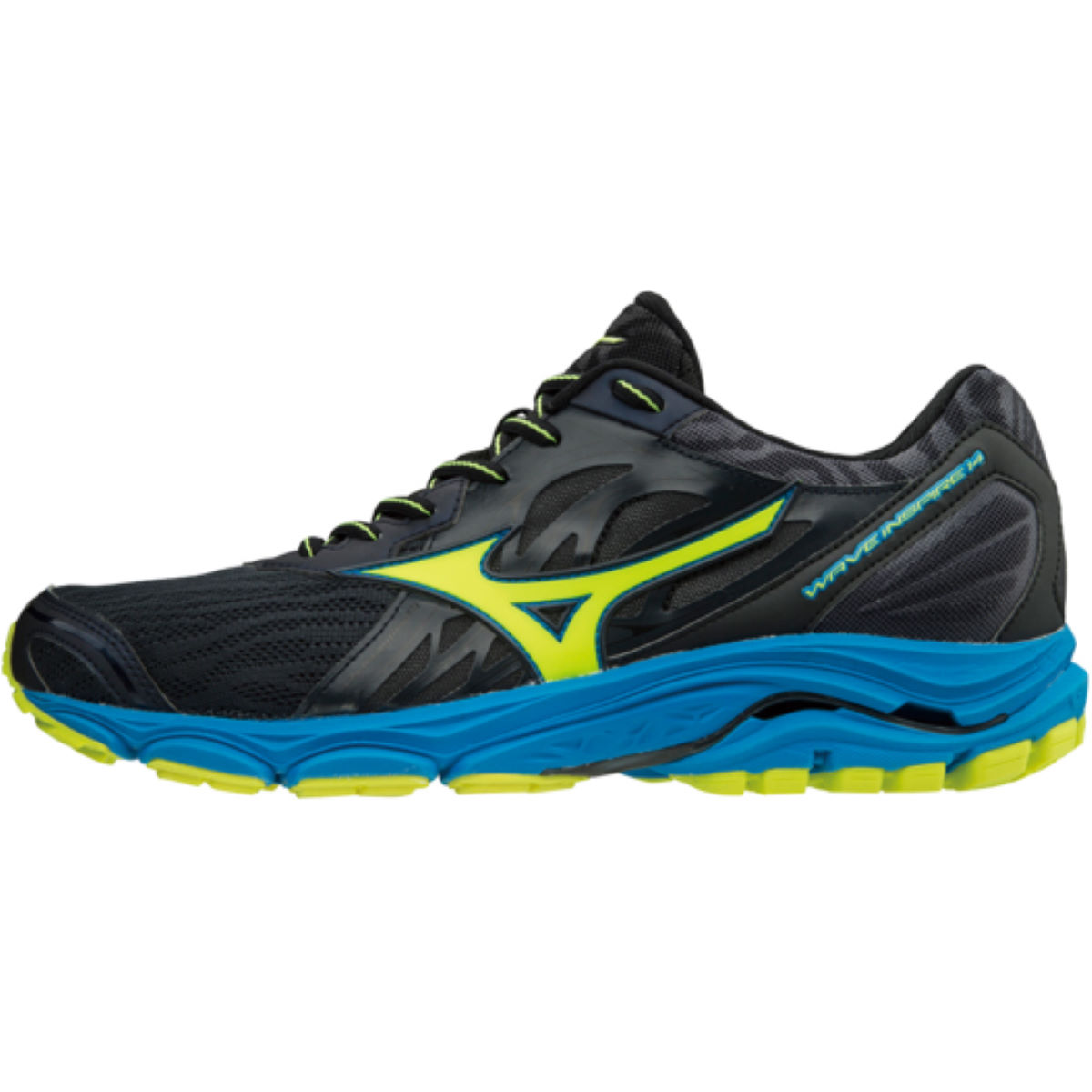 Chaussures Mizuno Wave Inspire 14 - UK 11 Ombre Blue / Safety