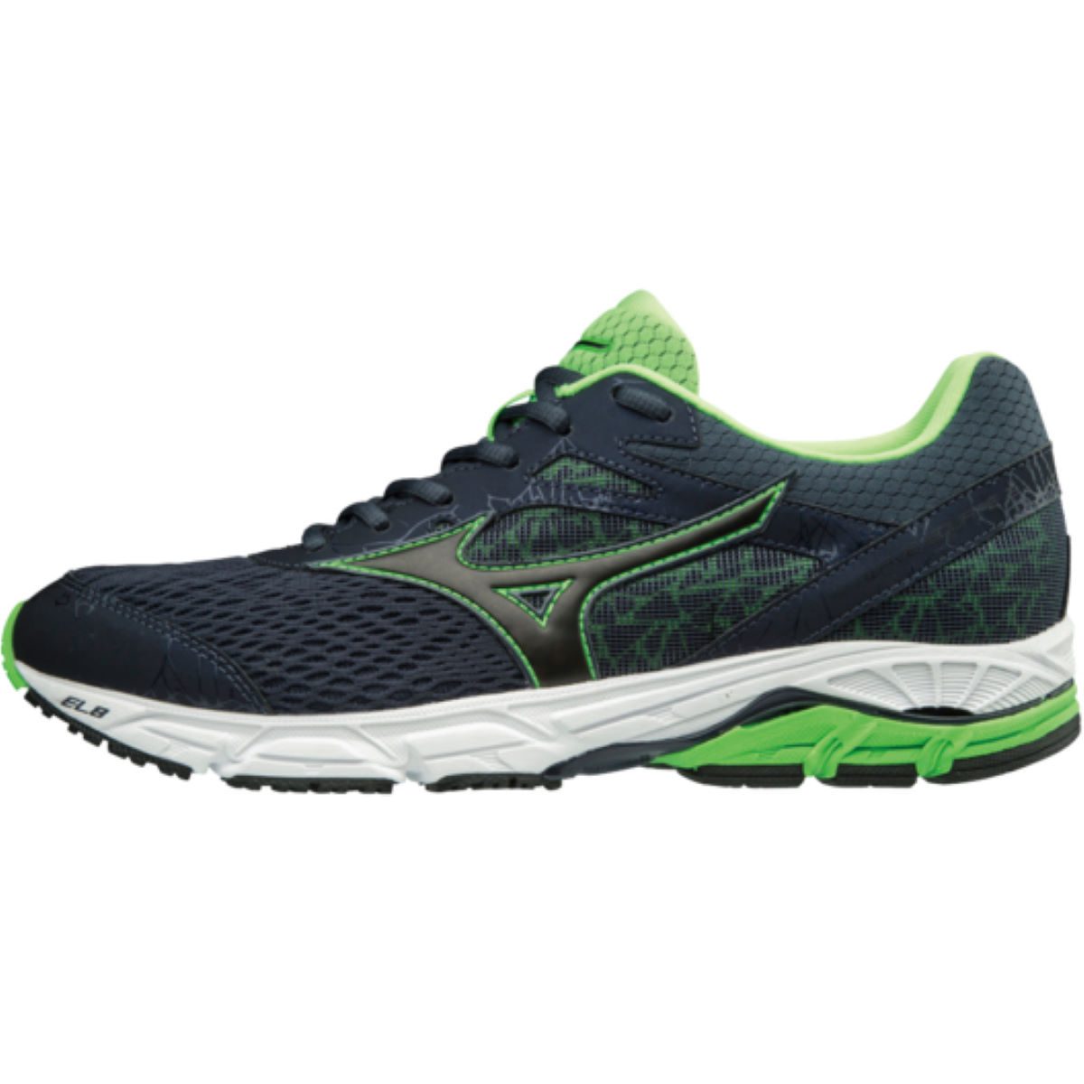 Chaussures Mizuno Wave Equate 2 - UK 13 Ombre Blue / Black /