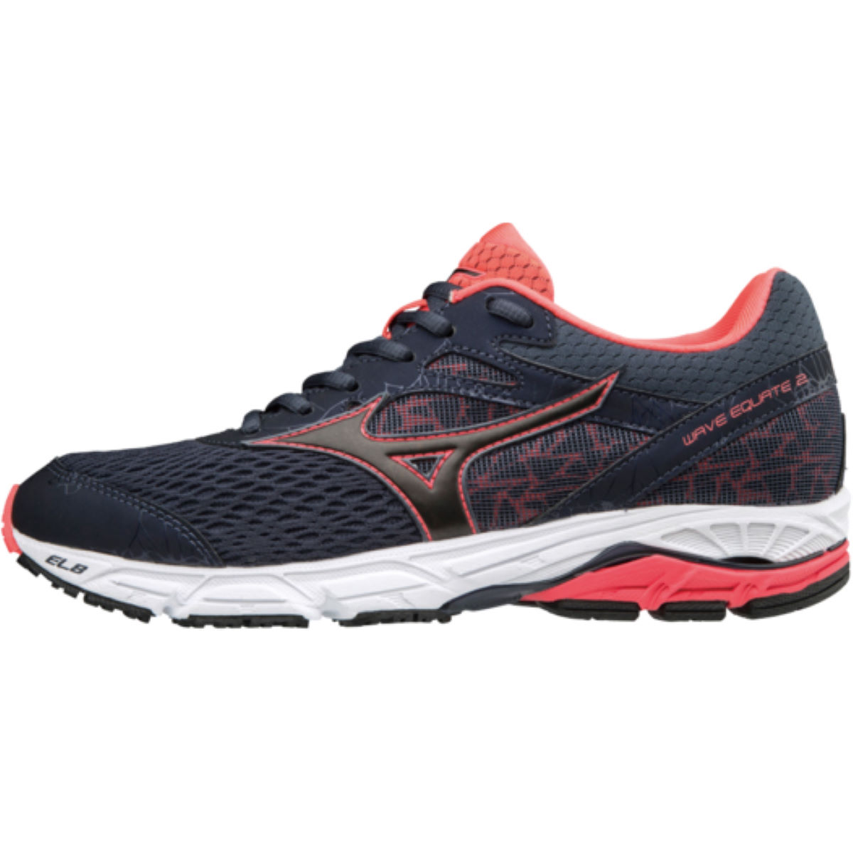 Chaussures Femme Mizuno Wave Equate 2 - UK 4 Ombre Blue / Black /