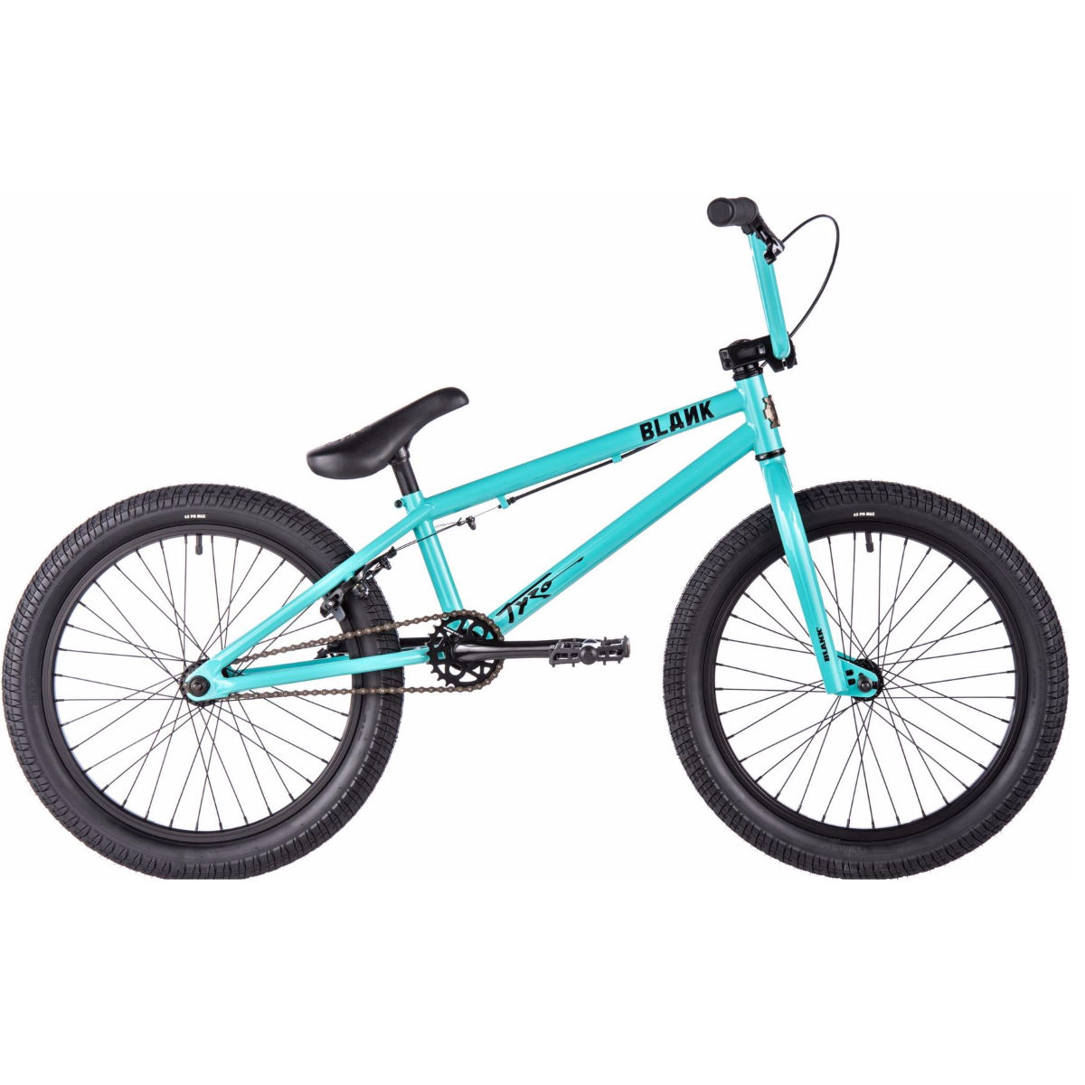 BMX Blank Tyro (2017) - One Size Stock Bike Teal BMX Street